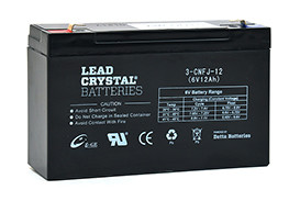 Batterie lead crystal