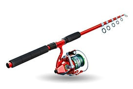 Batterie pêche