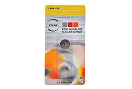 Pile bouton alcaline LR