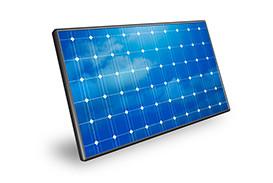 Panneau solaire rigide