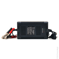 NX - Chargeur plomb NX 12V/6A 110-230V - pinces crocodiles (Intelligent)